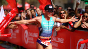 (Photo by Charlie Crowhurst/Getty Images for Challenge Triathlon)