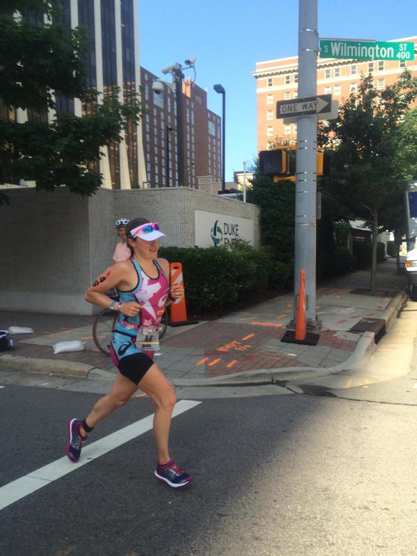 Cait Snow on the run. Image courtesy of Beth Lamie.