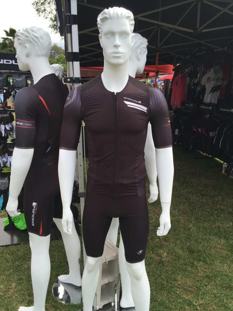 We we courteously invited to a luncheon with Endura, who have some slick new race suits on the way - this QDC will be available to us age-group mortals soon.