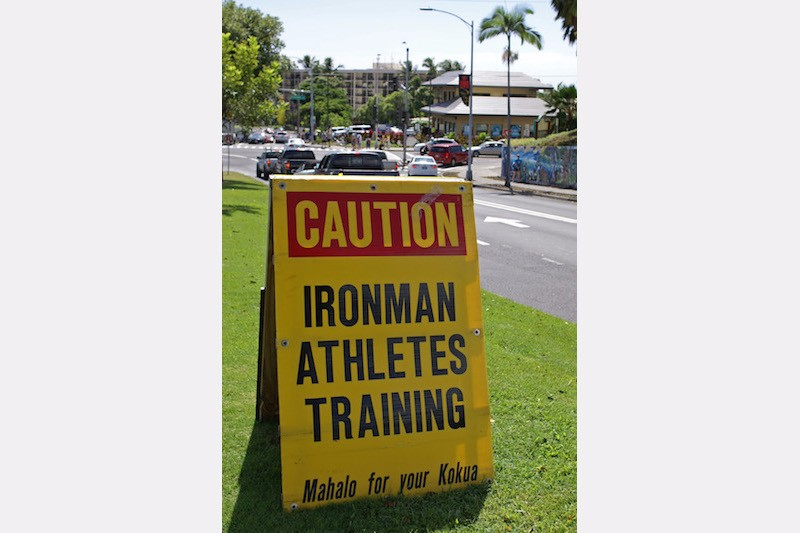 Ironman Kona 2015 - Athletes training
