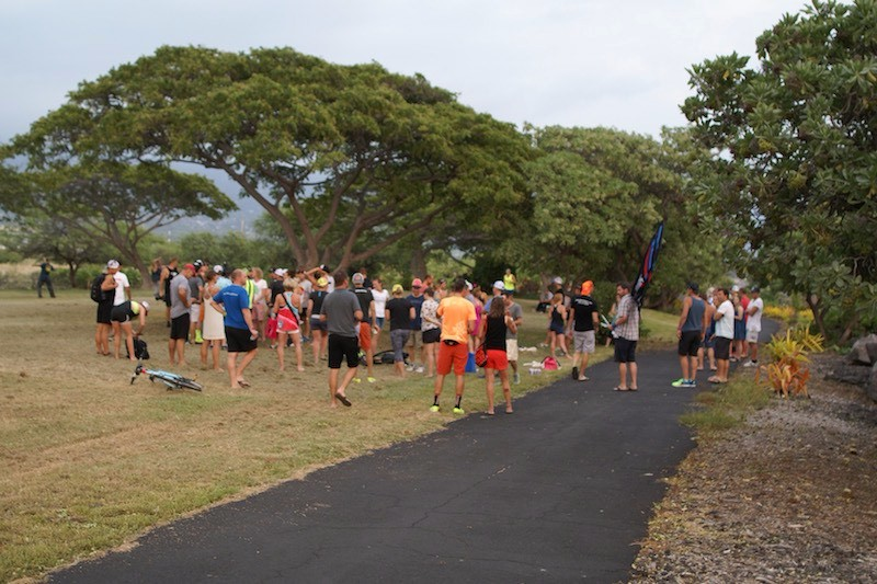 Kona Beer Mile 2015 - Assembling