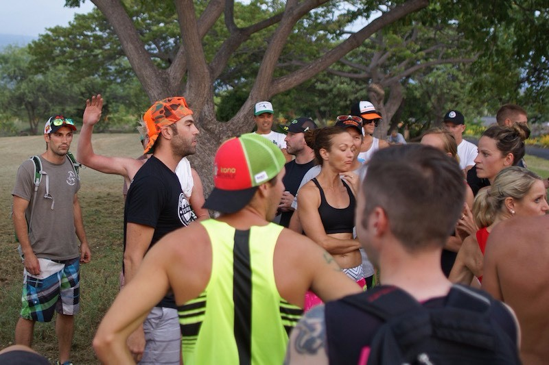 Kona Beer Mile 2015 - Mark and Zach