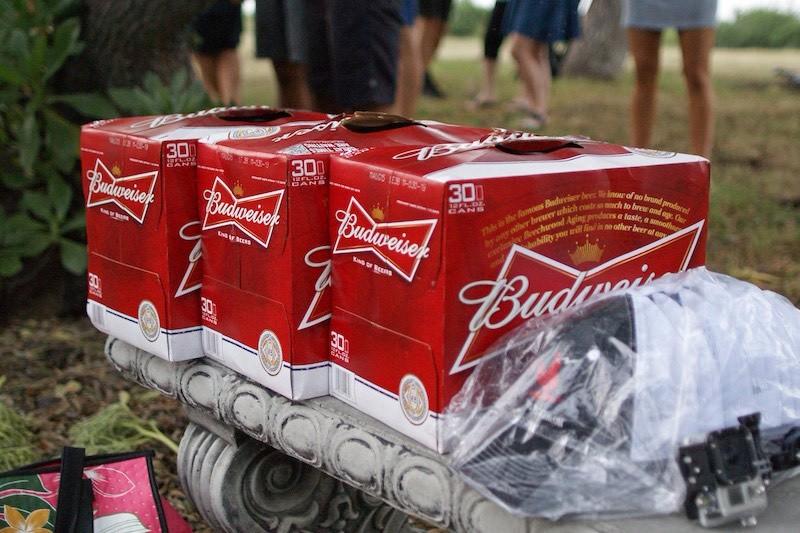 Kona Beer Mile 2015 - Budweiser