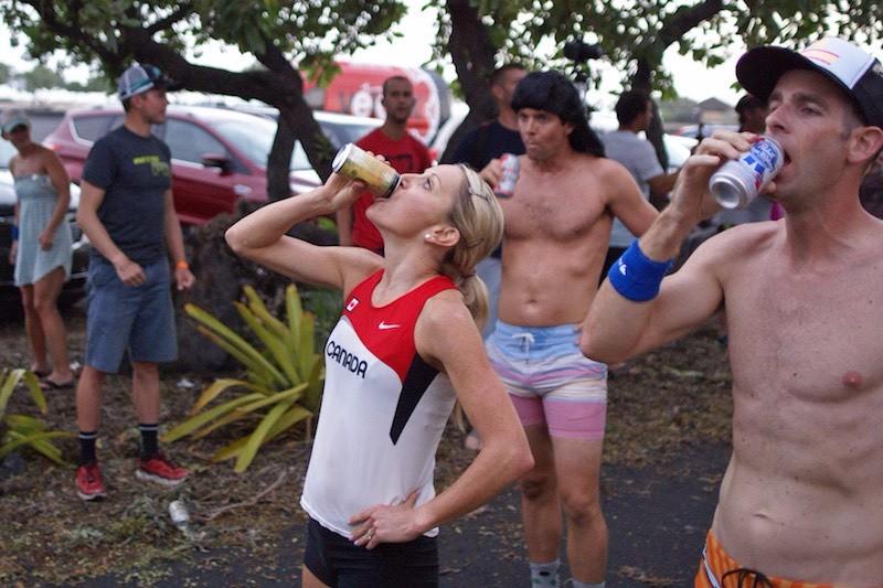 Kona Beer Mile 2015 - Kirsty