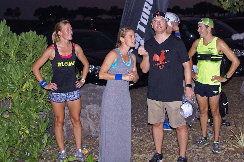 Kona Beer Mile 2015 - Sara and Alyssa