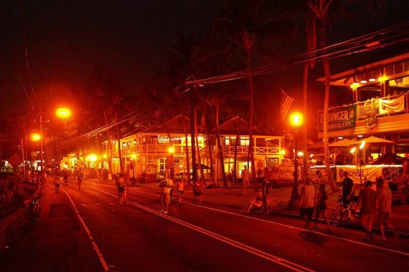 Ironman Kona 2015 - Ali'i at night