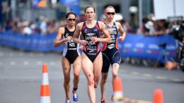 Credit: @ Delly Carr | ITU Media :: 2015 World Triathlon Series Auckland