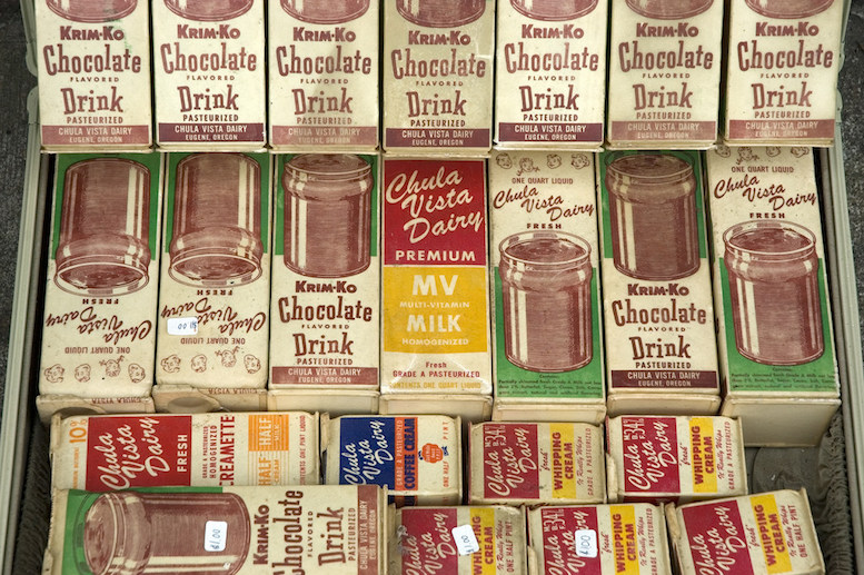 Various chocolate milks