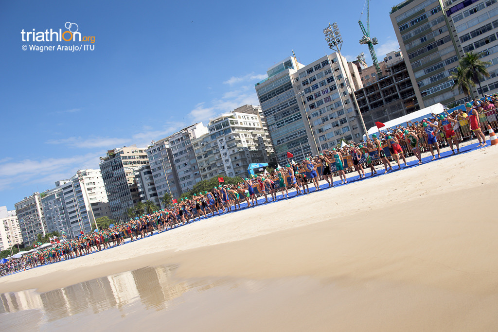 ITU WTS Rio Olympic Games Test event, 2015