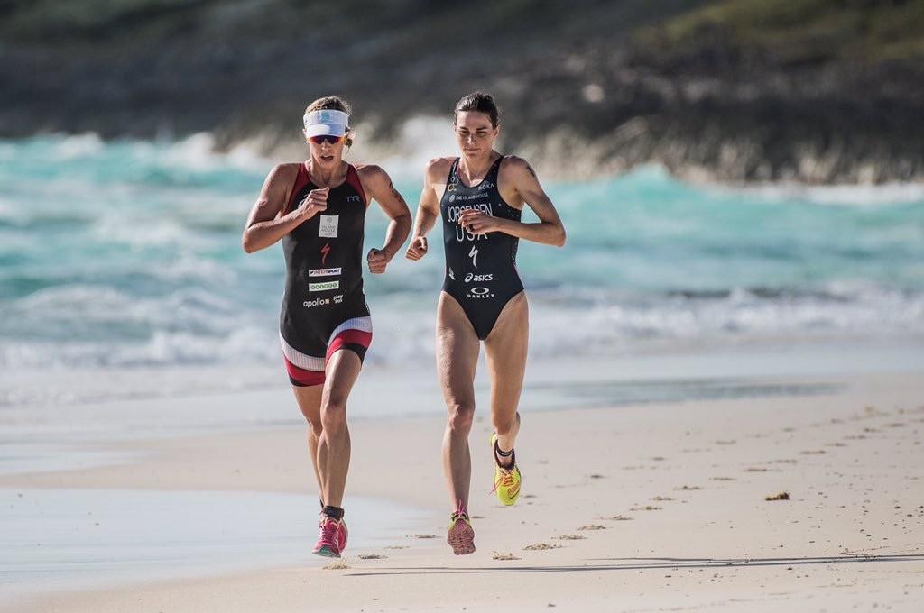 Gwen Jorgensen running