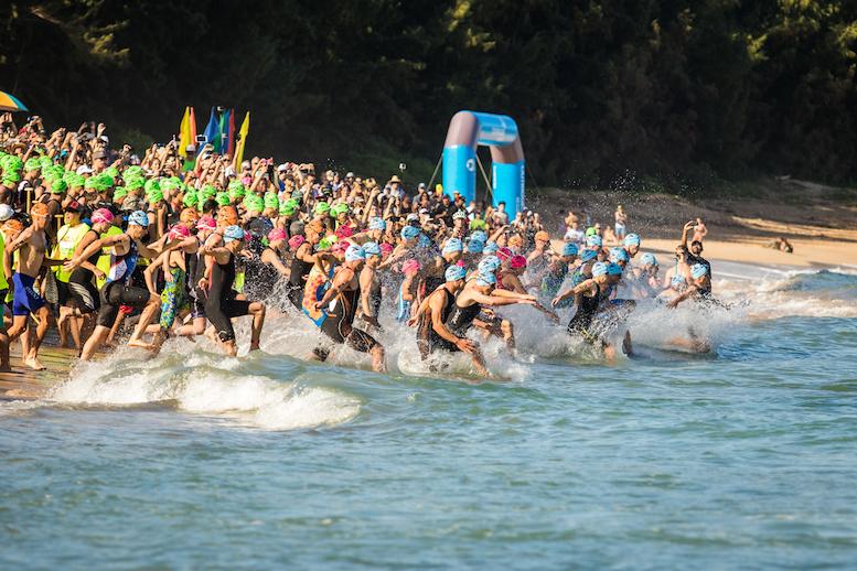 XTERRA Swim Start