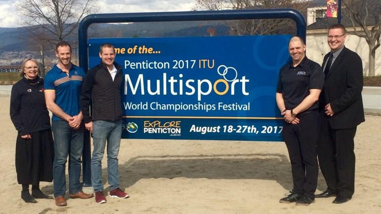 ITU Multisport Festival Penticton 2017 launch