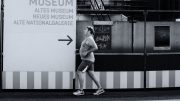 Fat runner stretching